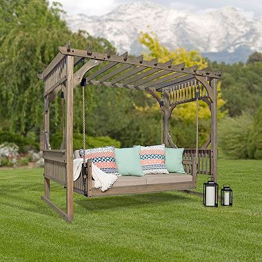 Backyard Discovery Hanging Lounger Http Www Dealepic Com Deal Backyard Discovery Hanging Lounger Outdoor Loungers Outdoor Patio Swing Backyard Decor