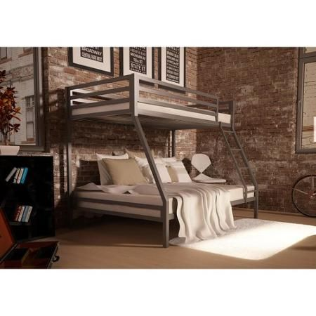 Your Zone Premium Twin Over Full Bunk Bed Multiple Colors Walmart