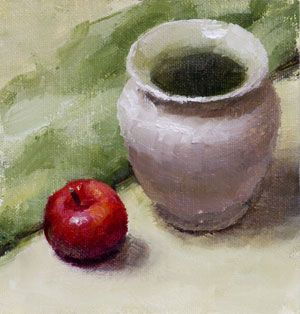 still life painting of vase - Google Search