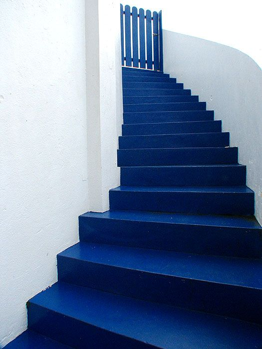 Blue Steps To Success: I Want To Paint My Sidewalk And Steps And Porch.