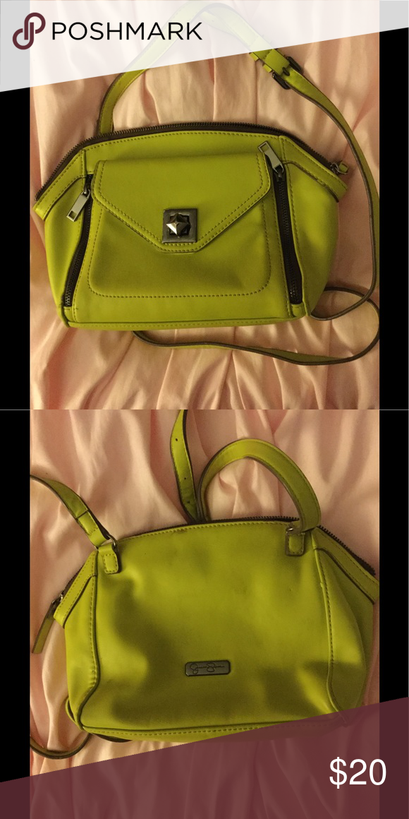 Neon green small handbag Summer bag! Jessica Simpson Bags Crossbody Bags