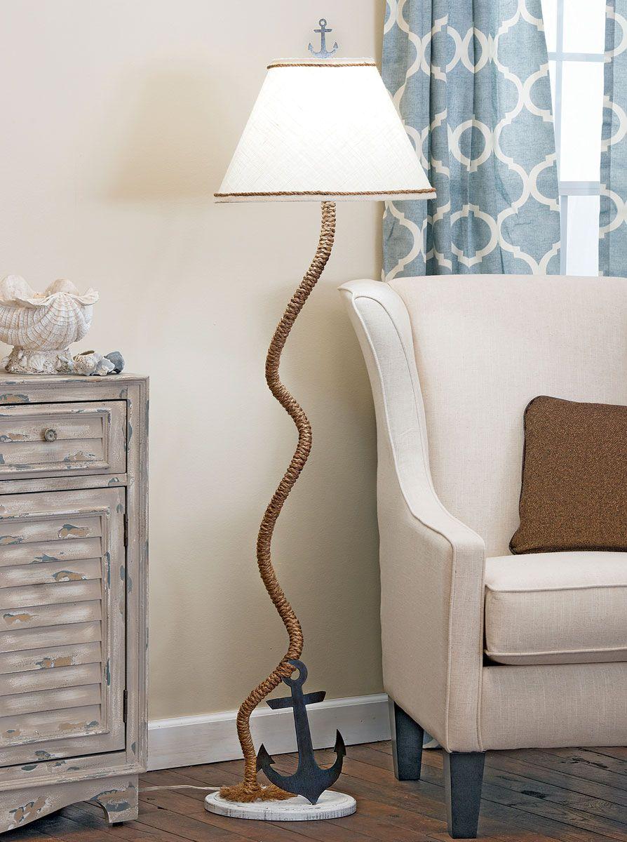 Idea by Bella Coastal Decor on Nautical Decor Floor lamp