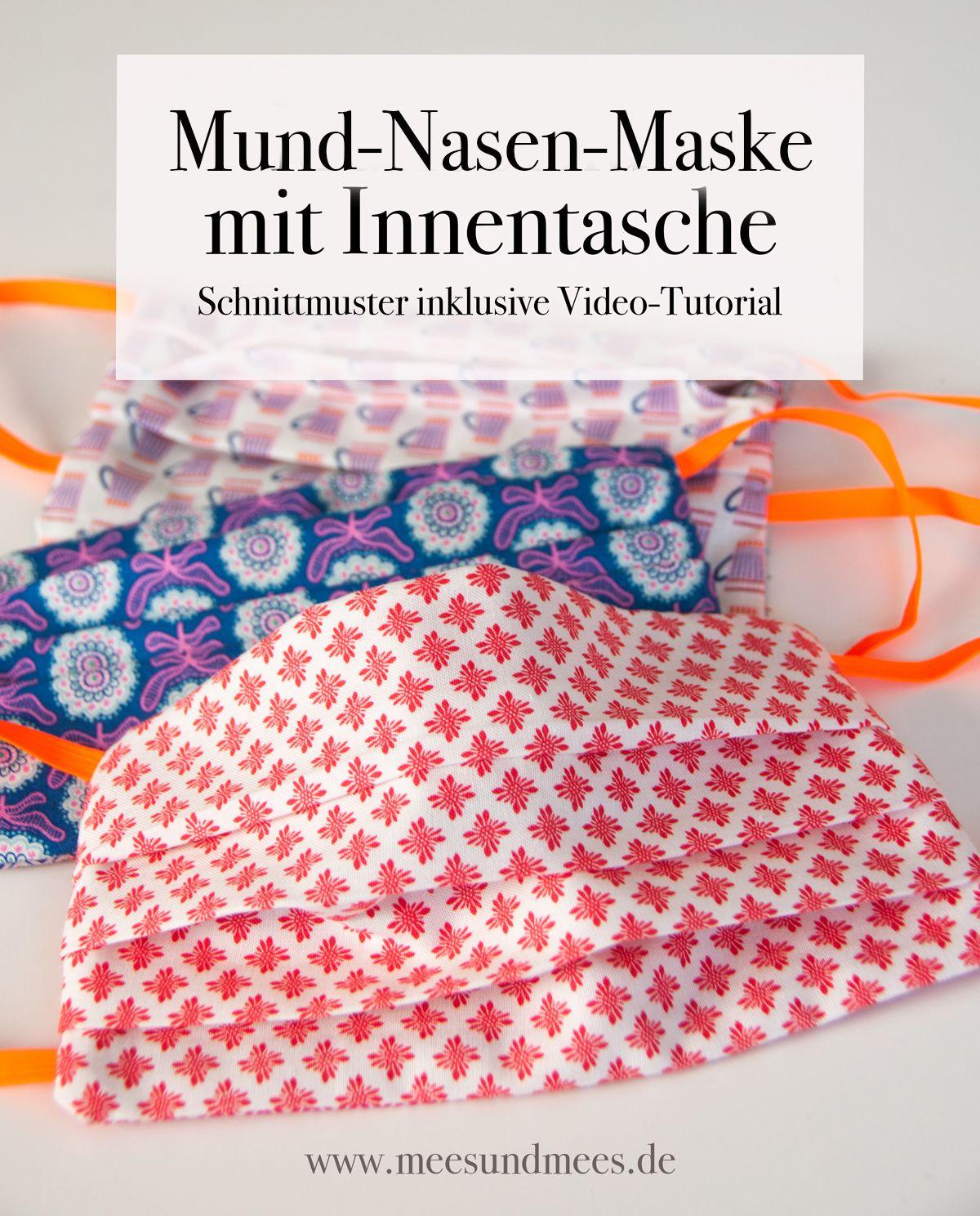 Freebook Schnittmuster Mund Nasen Maske Mit Innentasche Kostenlos Mees Mees Shop Blog In 2020 Schnittmuster Kostenlose Schnittmuster Mund
