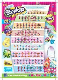 Shopkins List Season 5 Bday Checklist Store