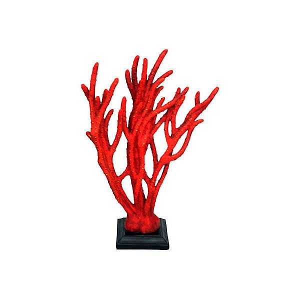 Faux Sea Coral Figurine Red Figurines Animal Figures €40 Extraordinary Faux Coral Decorative Accessories