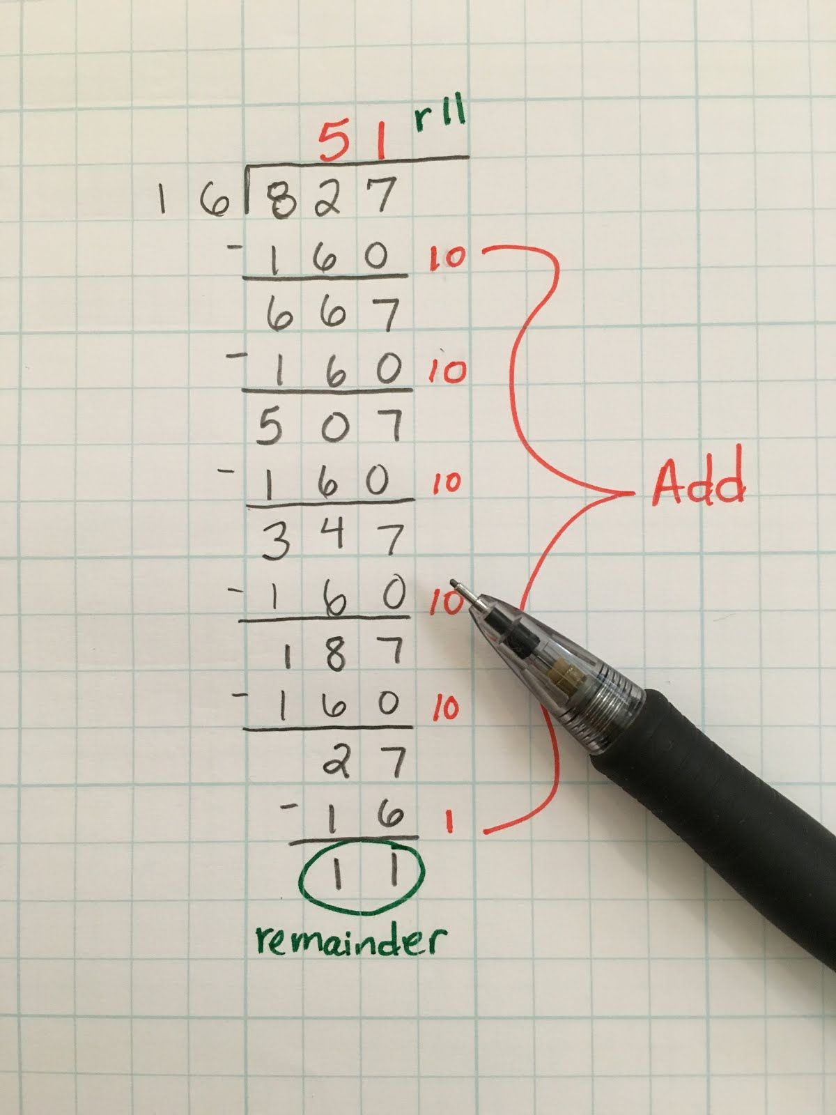 An Easier Way To Do Long Division