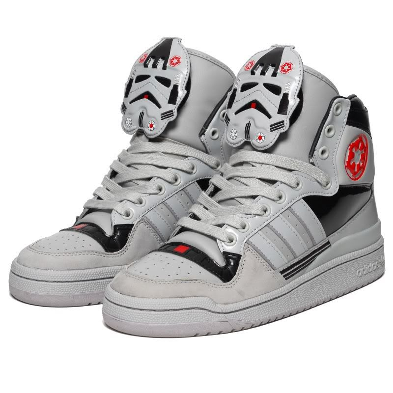Adidas Star Wars Eldorado High Hi Top AT-AT Pilot Walker Originals  Stormtrooper