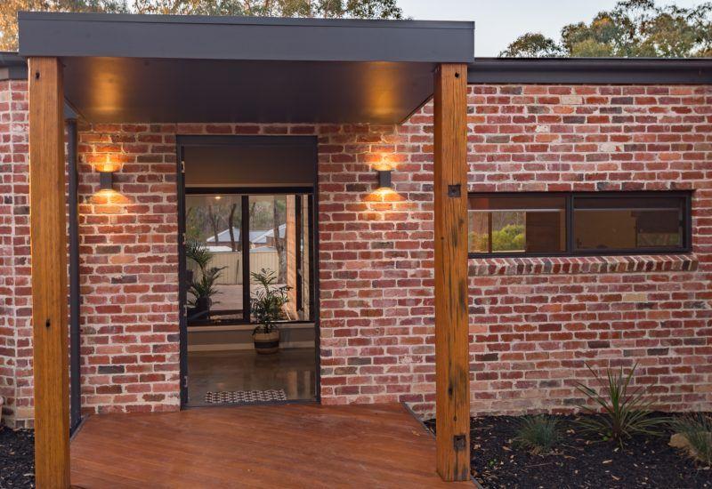 Recycled Bricks Brick Exterior House Facade House Clinker