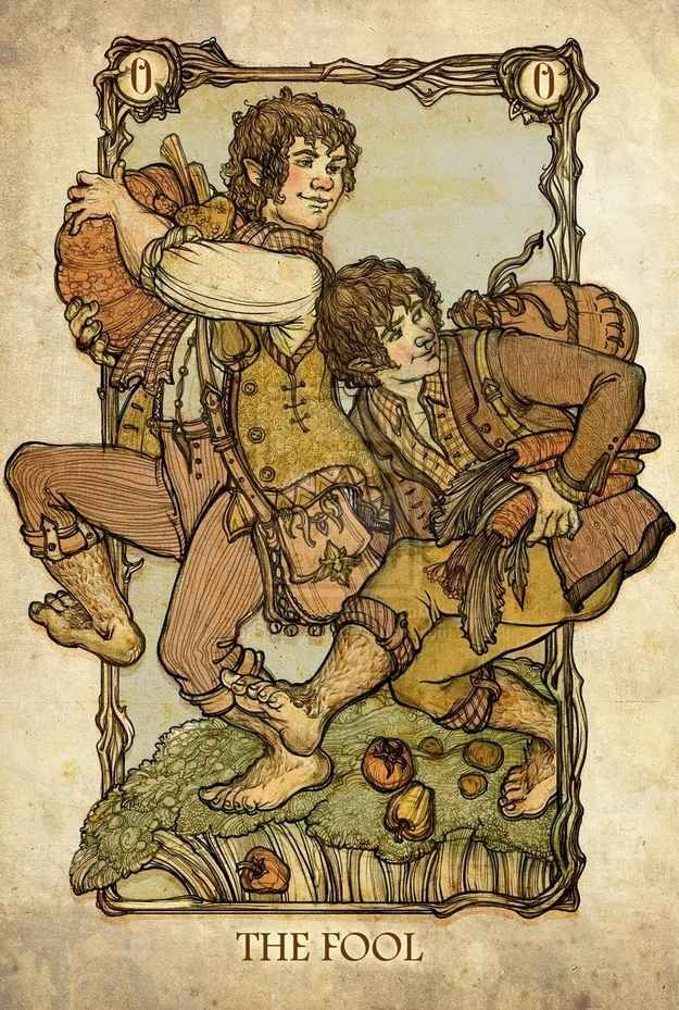 Map For Lord Of The Rings%0A These Are The Lord Of The Rings Tarot Cards You u    ve Been Dreaming Of