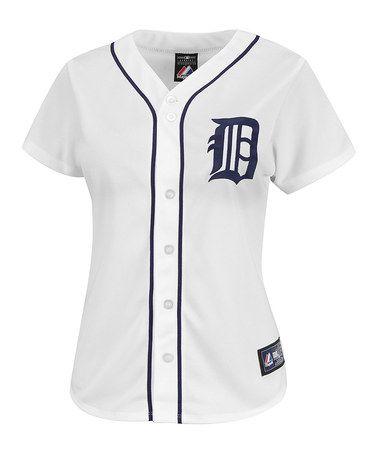 Detroit Tigers Replica Home Jersey Plus Tiger Lady Womens Camo Detroit Tigers