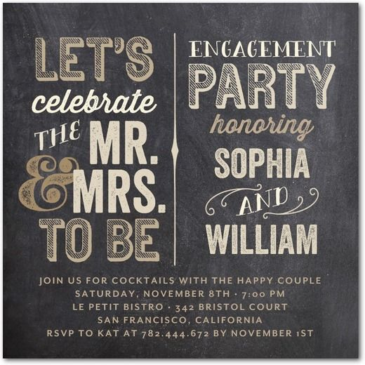 1000 images about Maddies Engagement Ideas – How to Word Engagement Party Invitations