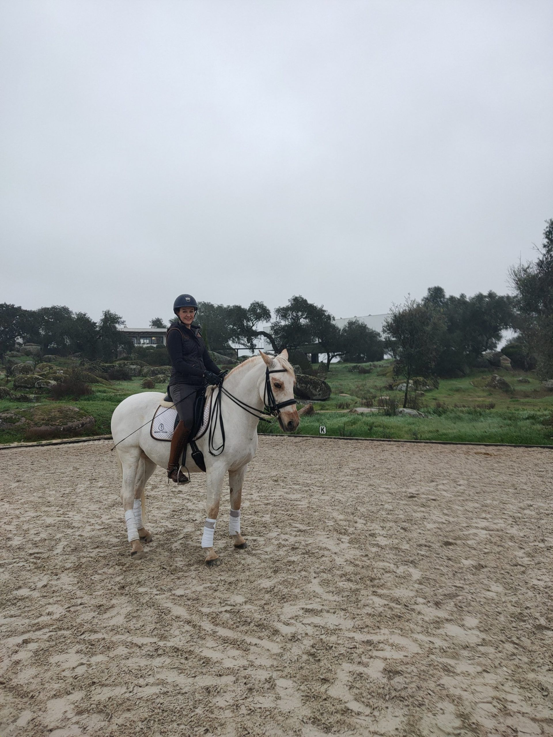 An Equestrian Holiday At Monte Velho The Sand Arena Ballerina In 2020 Equestrian Holidays Riding Holiday Equestrian