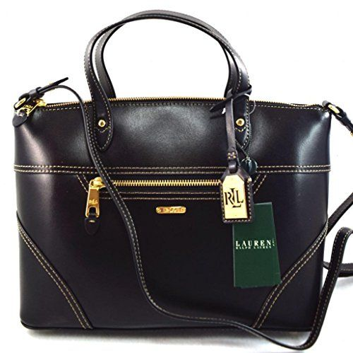 This bag is an Authentic Lauren Ralph Lauren Satchel Bag. It is made of genuine  leather. 556fd4b4d4