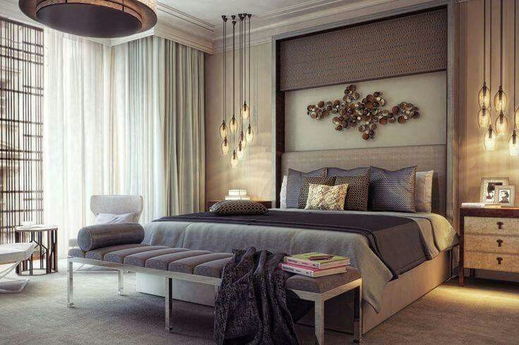 Bedroom Decor Always Needs A Luxurious Suspension Lamp Discover