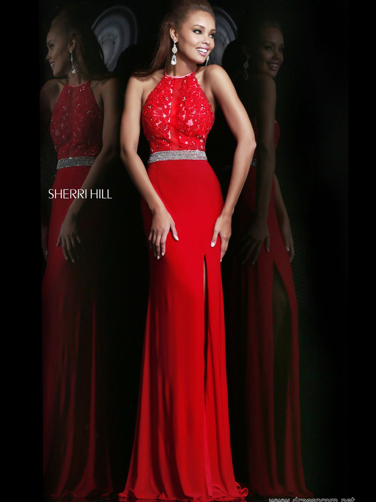Indulge yourself by slipping into this red carpet inspired prom