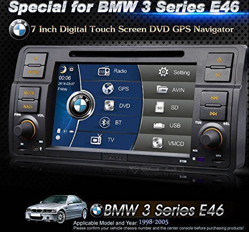 Eonon D5150Z Updated Interface for BMW 3series E46 InDash Plug