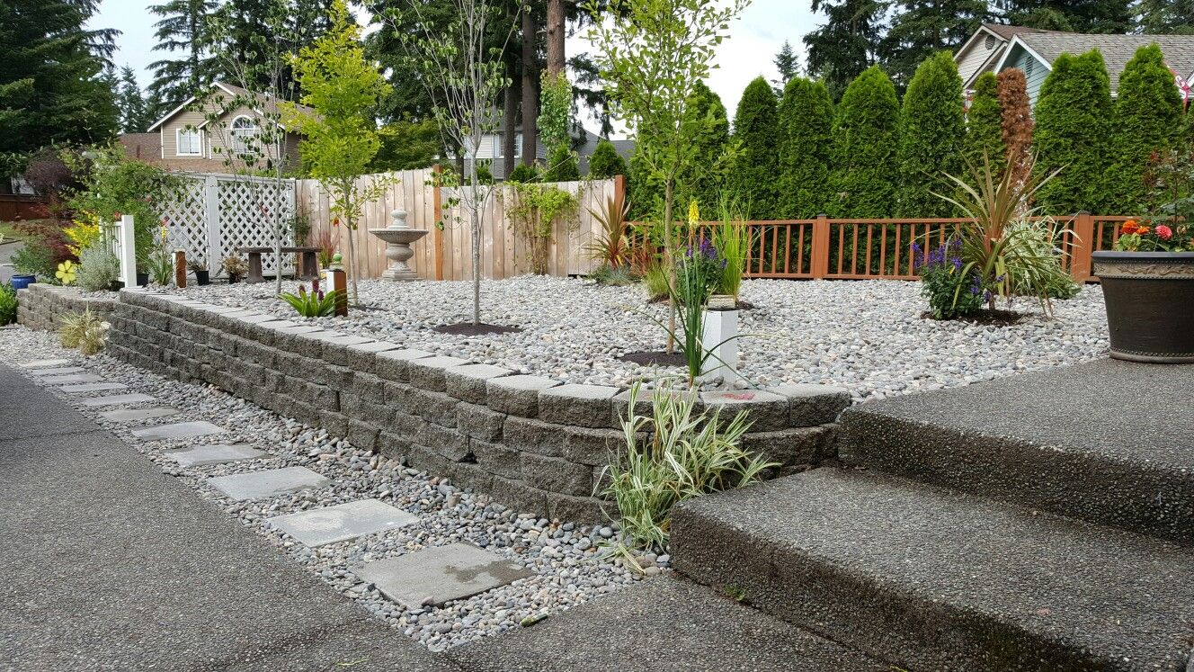 dry scape garden spaces