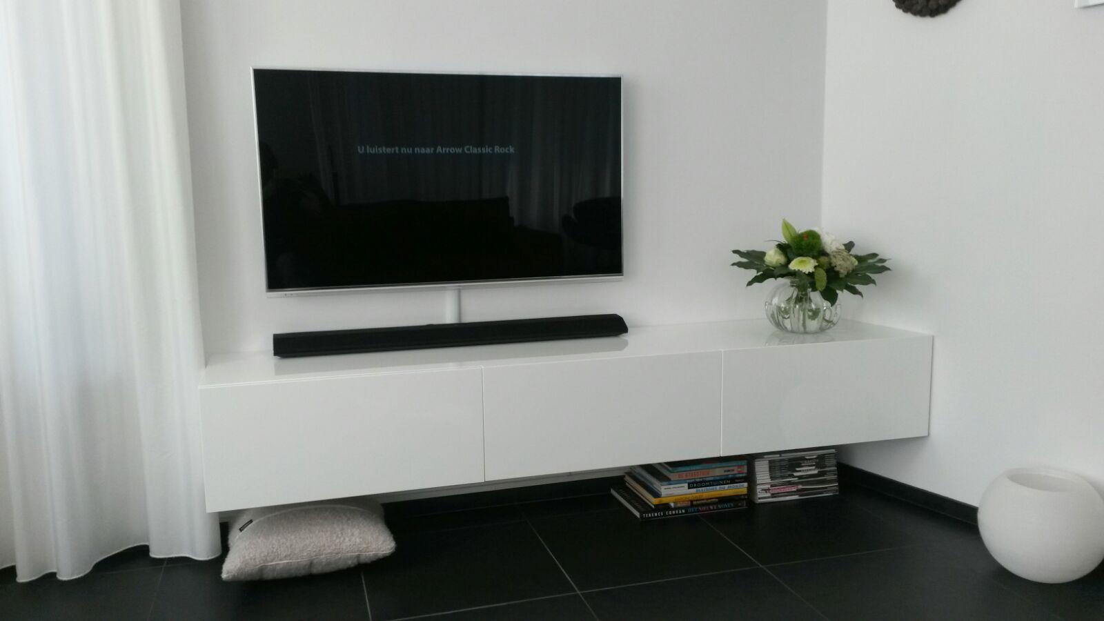 Tv Meubel Met Schuine Hoek Keuken Laten Maken Meubelen Op Maat Interieur