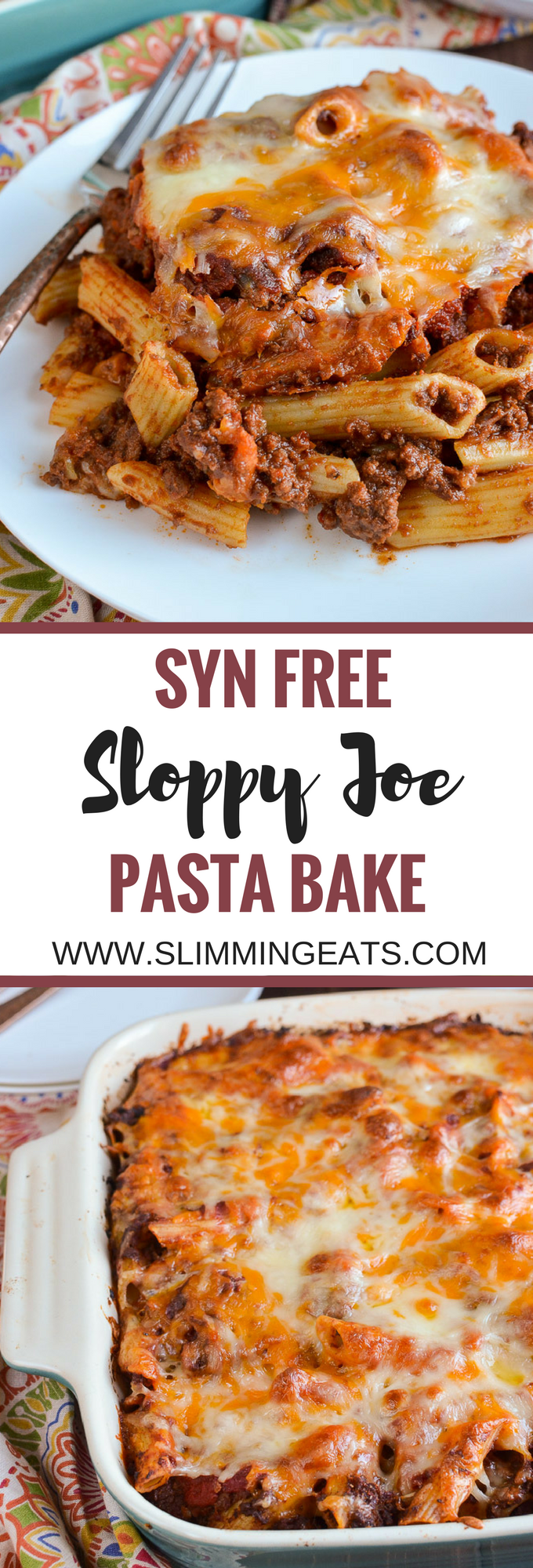 #watchers #slimming #friendly #gluten #sloppy #weight #pasta #world #free #bake #free #syn #joe #and...