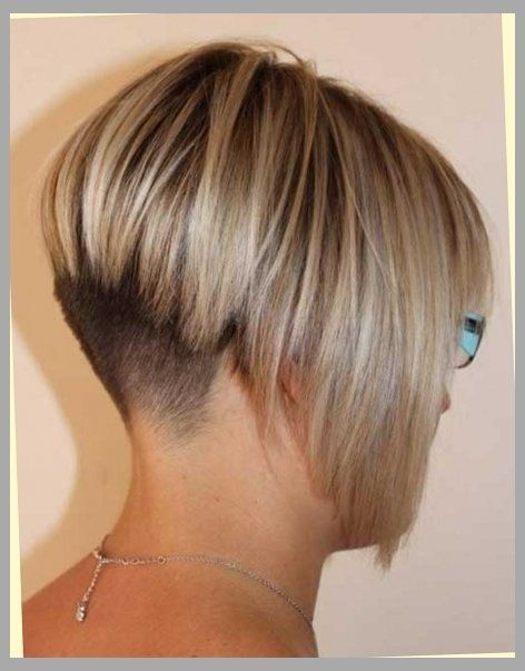Shaved Nape Bob Haircut With Regard To Hair Hairstyles For You