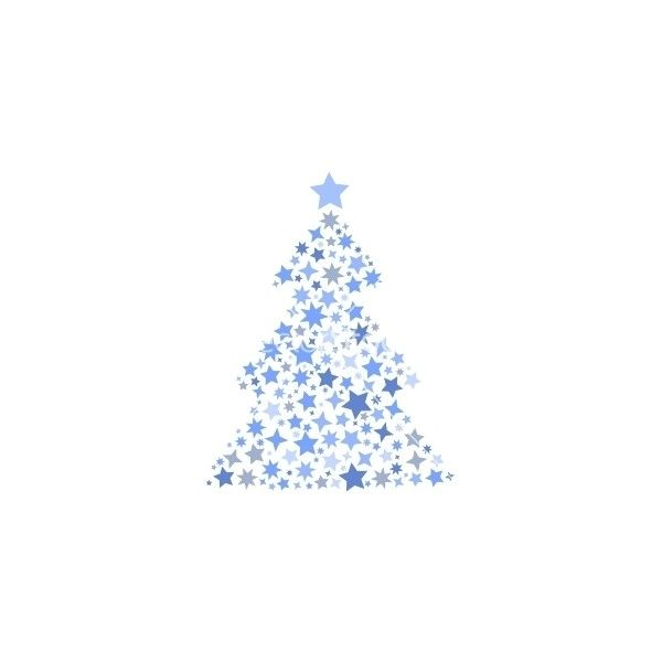 Symbol Silhouette Of Christmas Tree Stars Vector Liked On Polyvore Featuring Christmas And Xmas Christmas Tree Star Christmas Designs Christmas Images