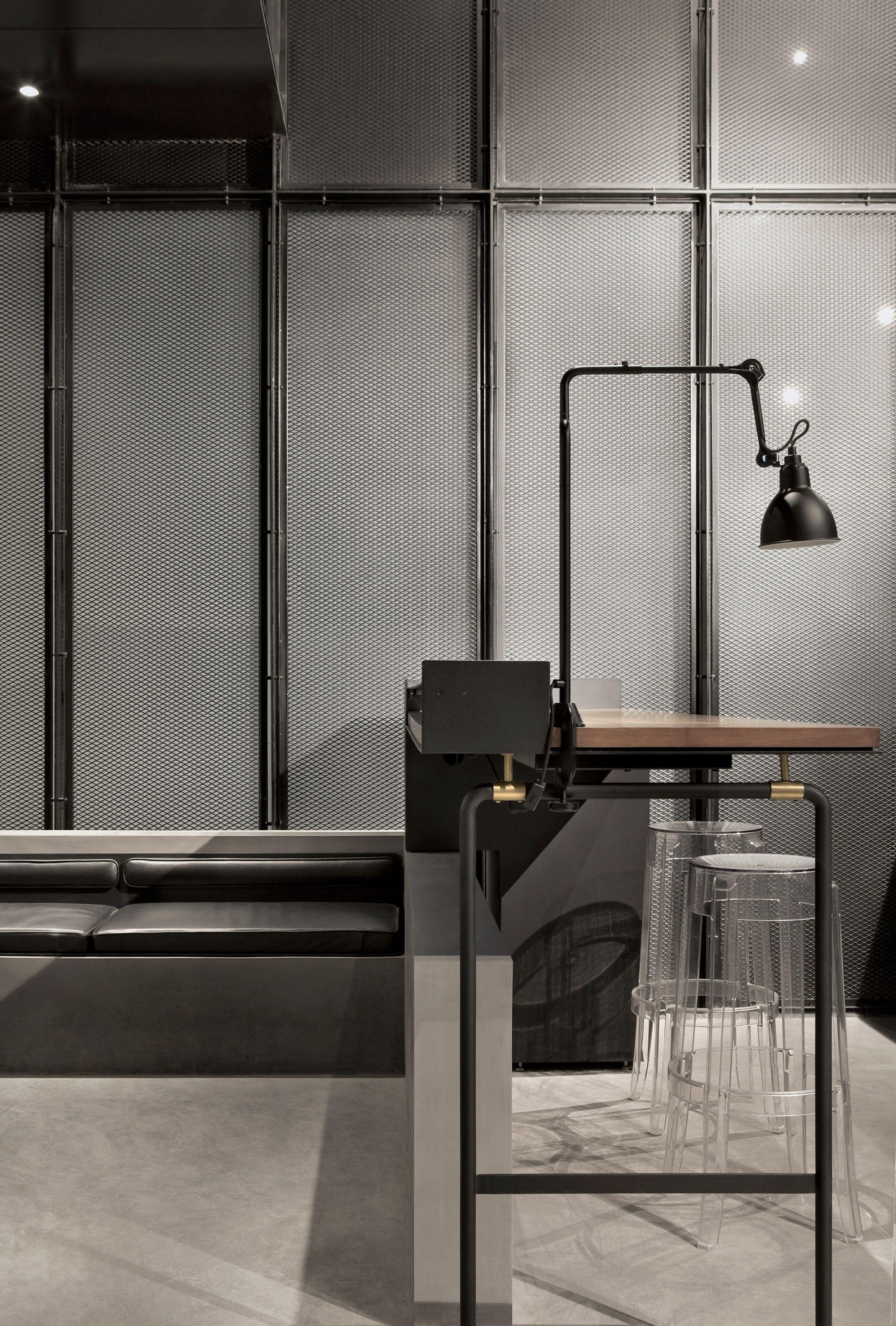 The Garage By Neri Hu Desain Interior Interior Ruang Kerja