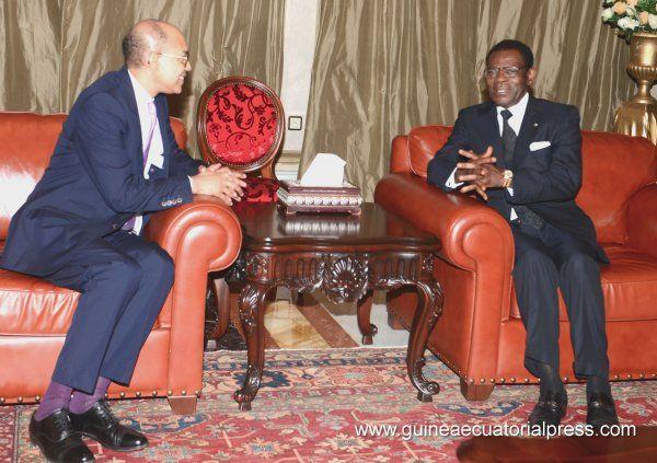 Plusieurs ambassadeurs ont présenté leurs lettres de créance à S. E. Obiang Nguema Mbasogo - Site officiel du Gouvernement de la République de Guinée équatoriale