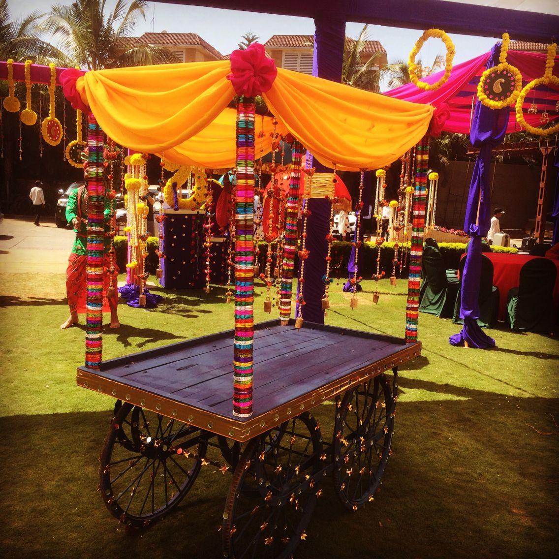 Indian Gift Cart Mehendi