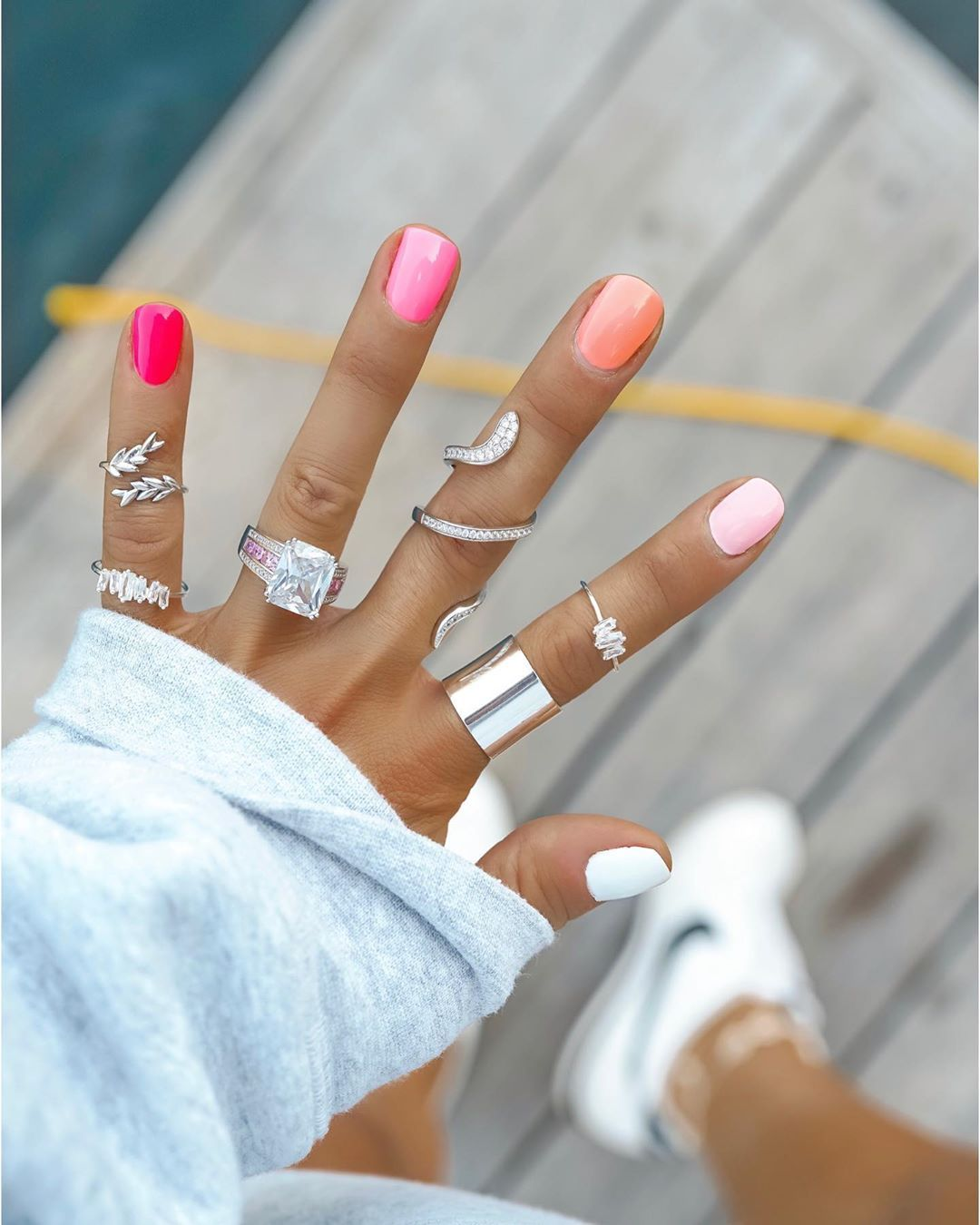 Erica Shaw On Instagram Pink Pink Pink Posting These Nails One Last Time Cause They Ve Been Soo Popul In 2020 Makeup Nails Designs Nails First Pretty Acrylic Nails