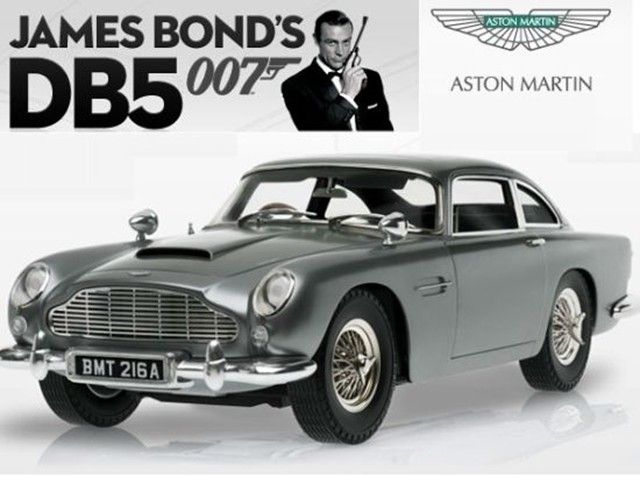 Captivating Aston Martin Which Was Used In The James Bond Movies Goldfinger Car Pictures