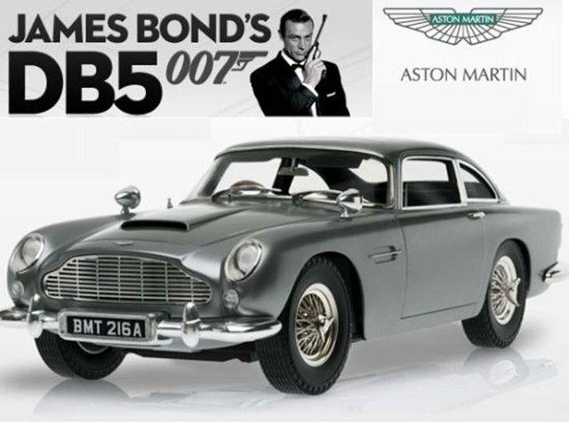 Goldfinger Aston Martin Db5 Model Bond Cars Aston Martin Db5 Aston Martin