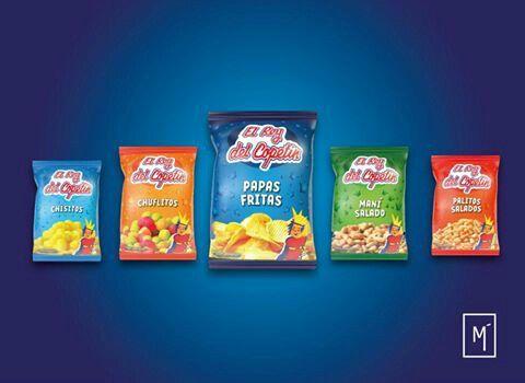 sistema completo de snacks #sanjuan #argentina #rediseño #packaging