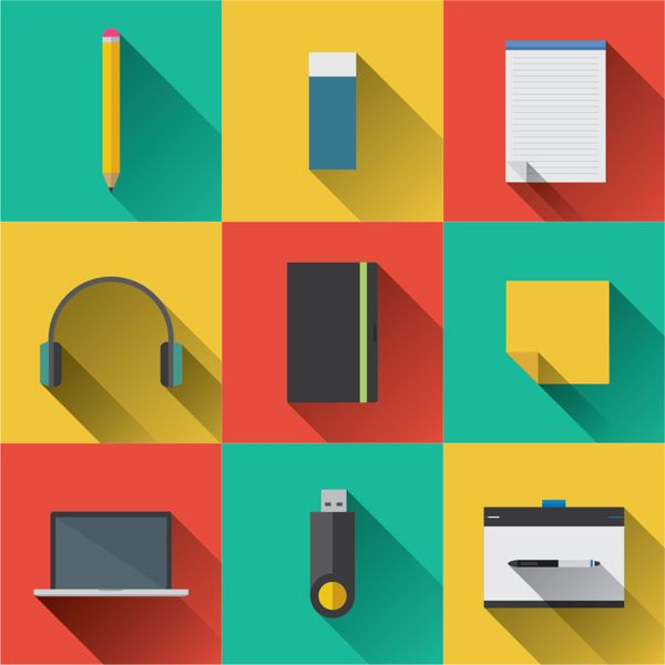 Graphic Designer Free Icon Pack | Flat design | Pinterest | Icons ...