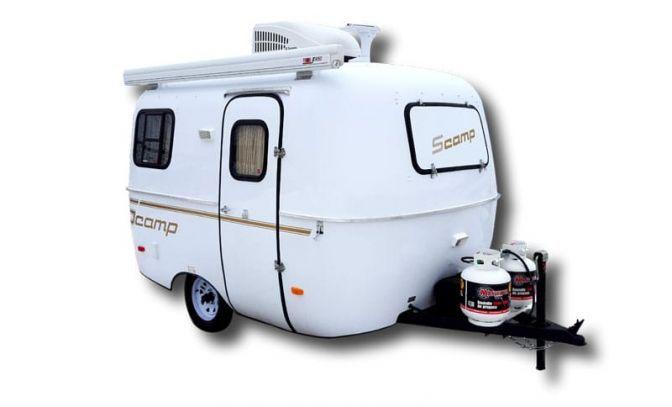 Scamp 13 Fiberglass Lightweight Travel Trailer Camper Deluxe