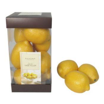 Sonoma Life Style 17 Pc Artificial Lemon Vase Fillers Kohls