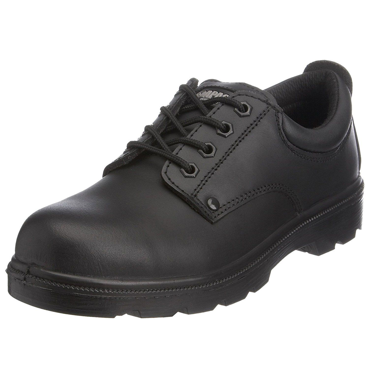 Apache Unisex-Adult AP306 Safety Shoes Black 9 UK Wide ** For more  information