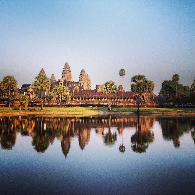 The incredible #AnkorWat #SiemReap #cambodia #TheWorldPursuit #follow4follow