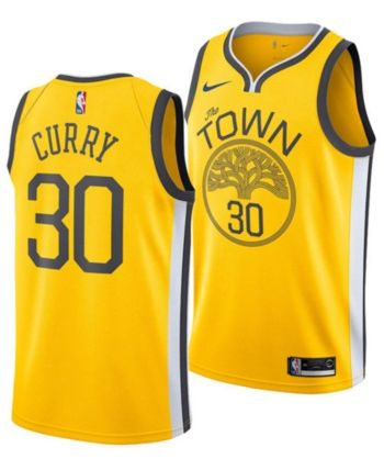 newest 6e39b 064a9 Nike Stephen Curry Golden State Warriors Earned Edition ...