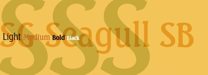SG Seagull SB font download