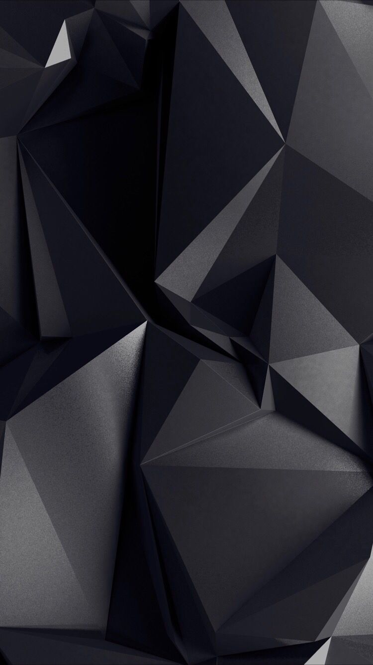 3d Black Wallpaper For Your Iphone Xs From Everpix