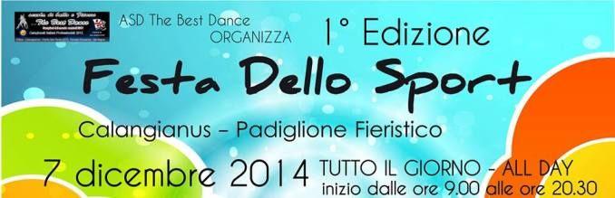 Calangianus, 1^ edizione della Festa dello Sport. Domani 7 dicembre il grande evento che comprende tutte le discipline della danza.
