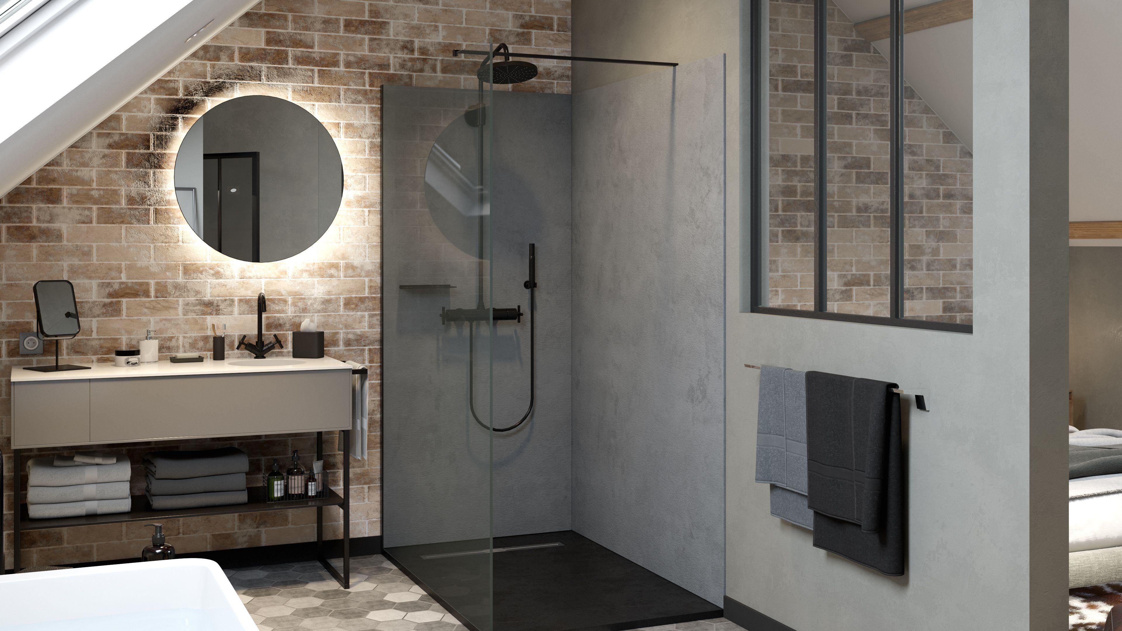 Baignoire Sous Les Combles une salle de bains sous les #combles installée pour la