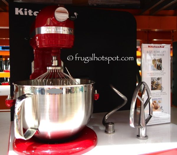 Perfect Costco Has The KitchenAid Bowl Lift Stand Mixer On Sale For A Limited Time.