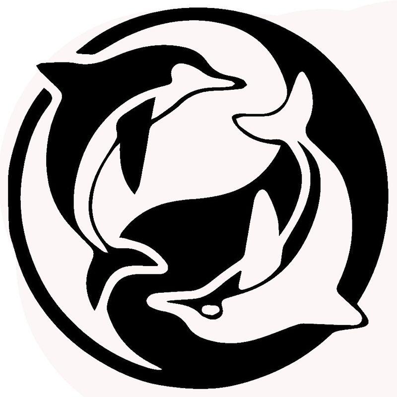 Pin Di Silvia Coluccio Su Silhouette Delfini Pirografia Grafici