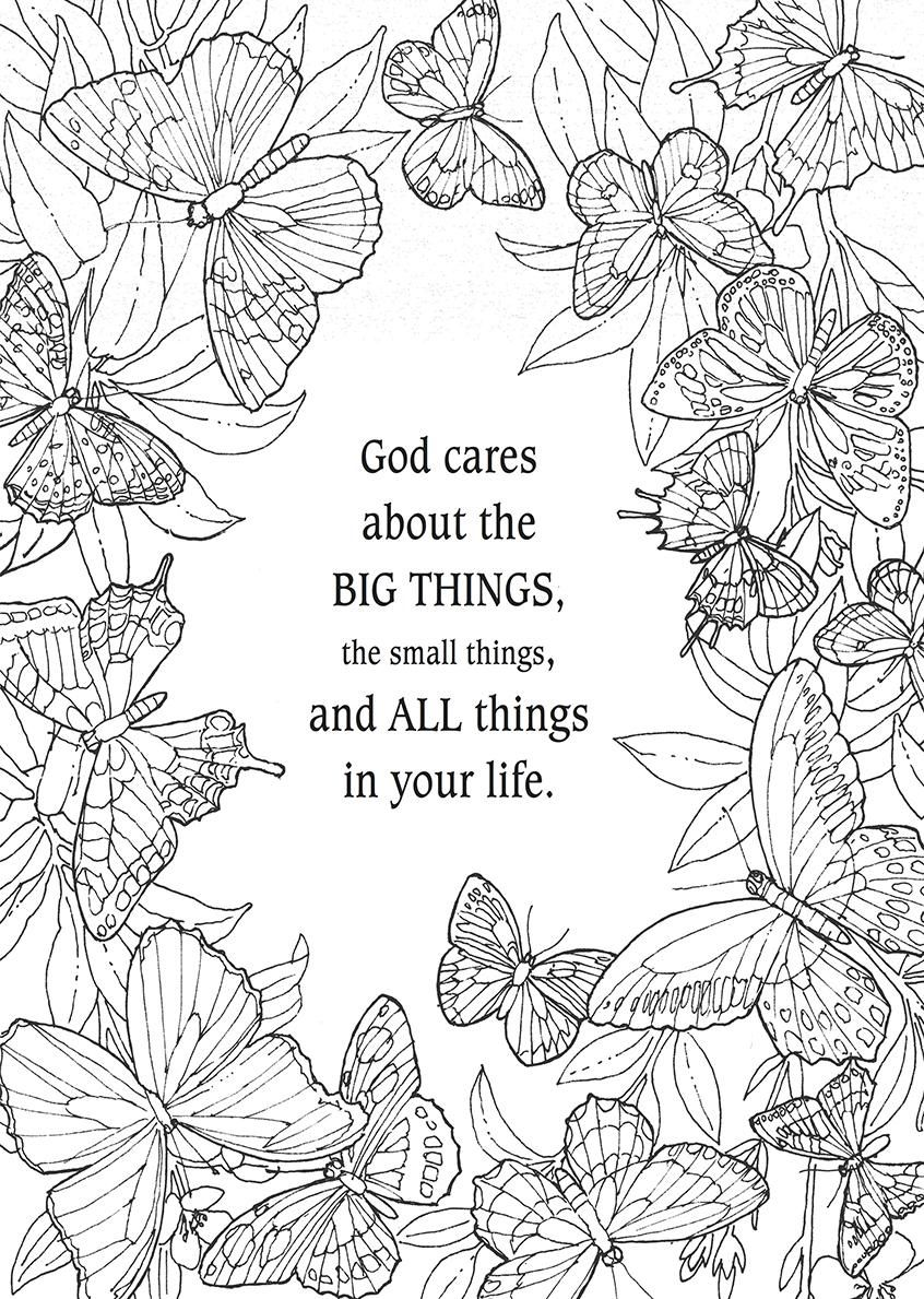 Large Print Coloring Art Collection Bible Coloring Pages Free Bible Coloring Pages Quote Coloring Pages