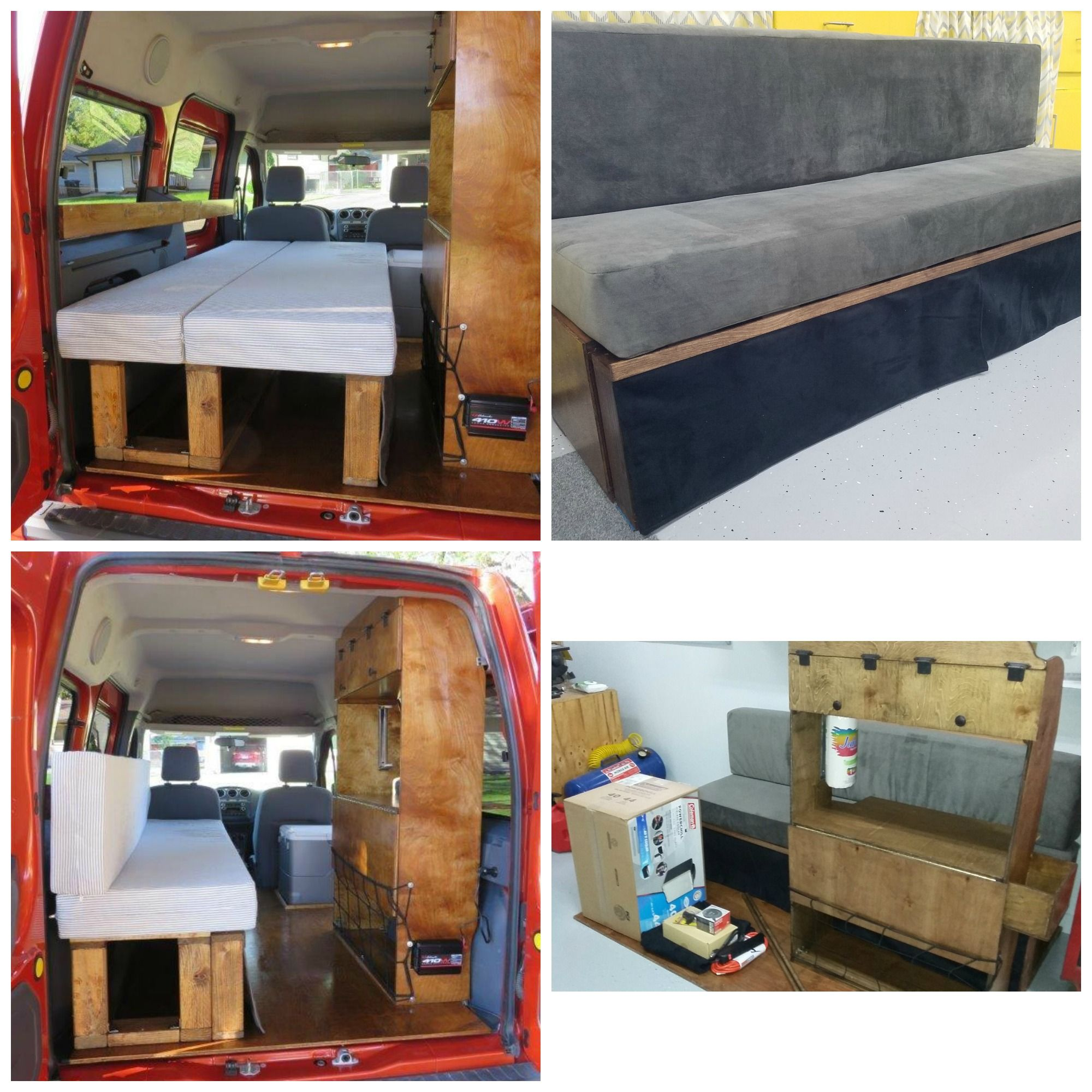 2002-2013 Ford Transit Connect Camper Conversion Kit. Can ...