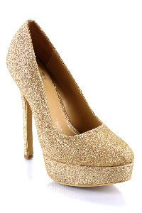 sparkly gold heels is a must... perhaps not this high though... eh ... b0026dee3a