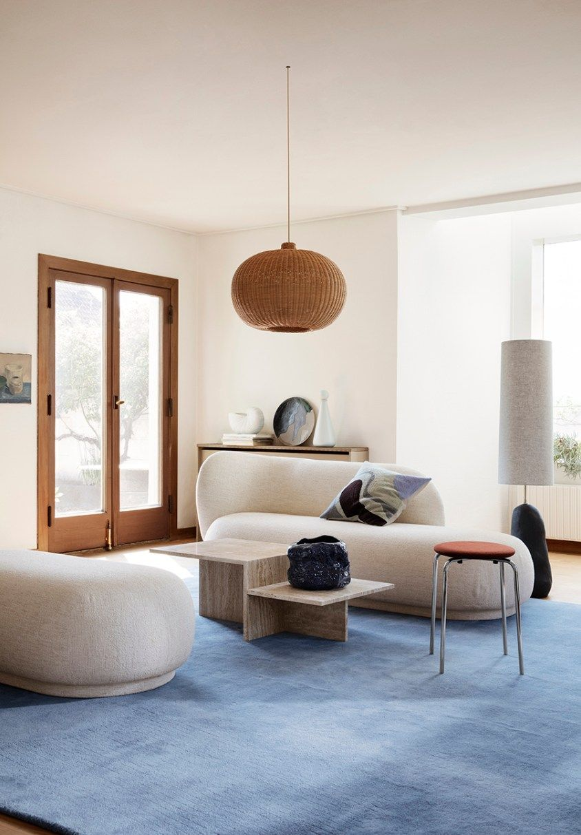 Ferm Living Nordic Home Abitare Interior Design Blog Nordic Interior Livingroom Interior Living Room Interior