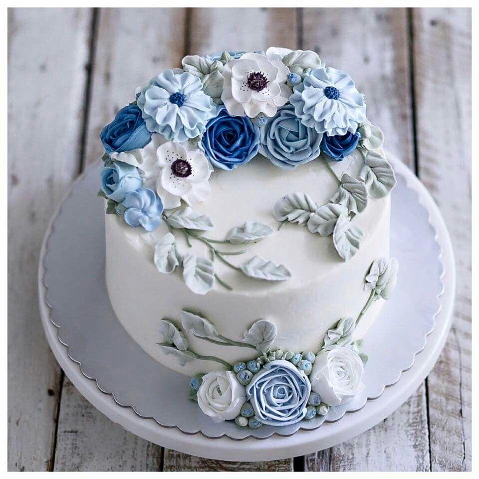 Buttercream Cake Decor Decorating