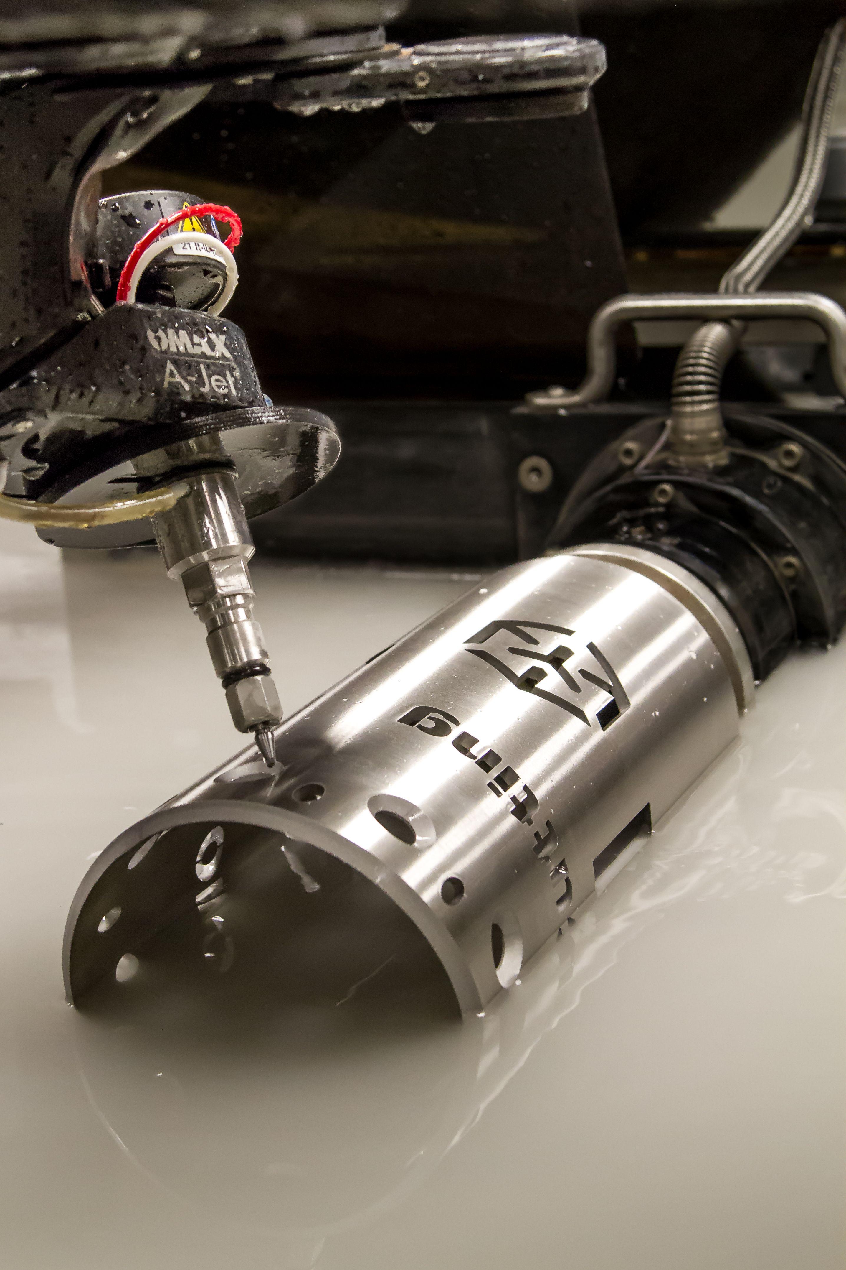 Pin On Waterjet Cutting